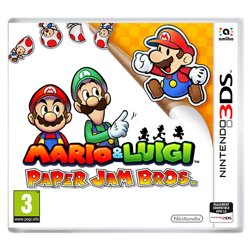 Jeux Nintendo 3DS Mario & Luigi: Paper Jam Bros. (Nintendo 3DS/2DS) Mario & Luigi: Paper Jam Bros. (Nintendo 3DS/2DS)