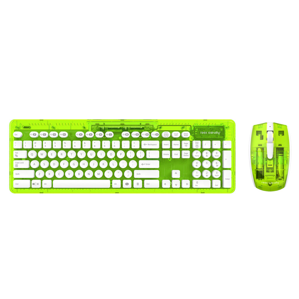 pdp rock candy wireless desktop vert pack clavier. Black Bedroom Furniture Sets. Home Design Ideas