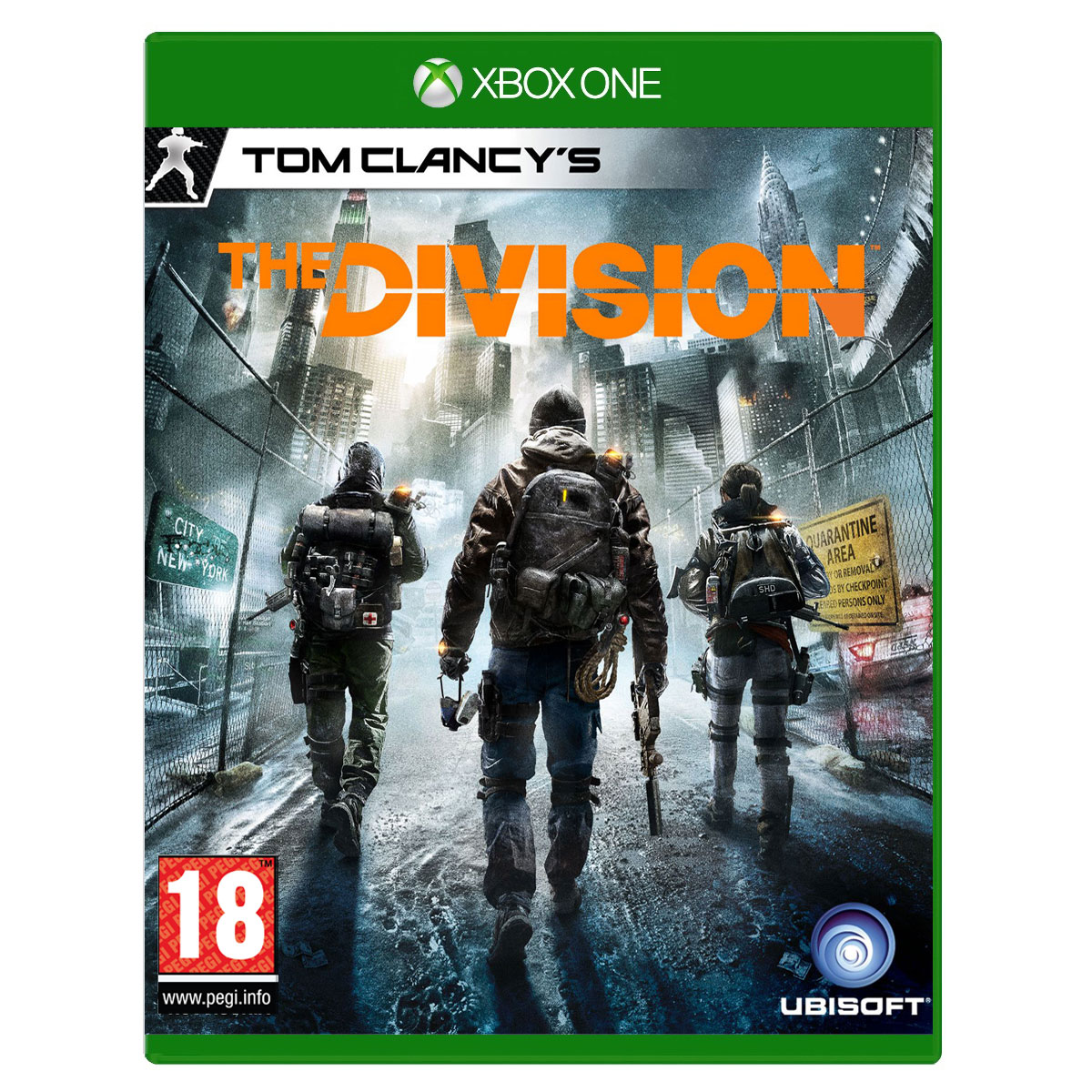 tom clancy 39 s the division xbox one jeux xbox one ubisoft sur ldlc. Black Bedroom Furniture Sets. Home Design Ideas