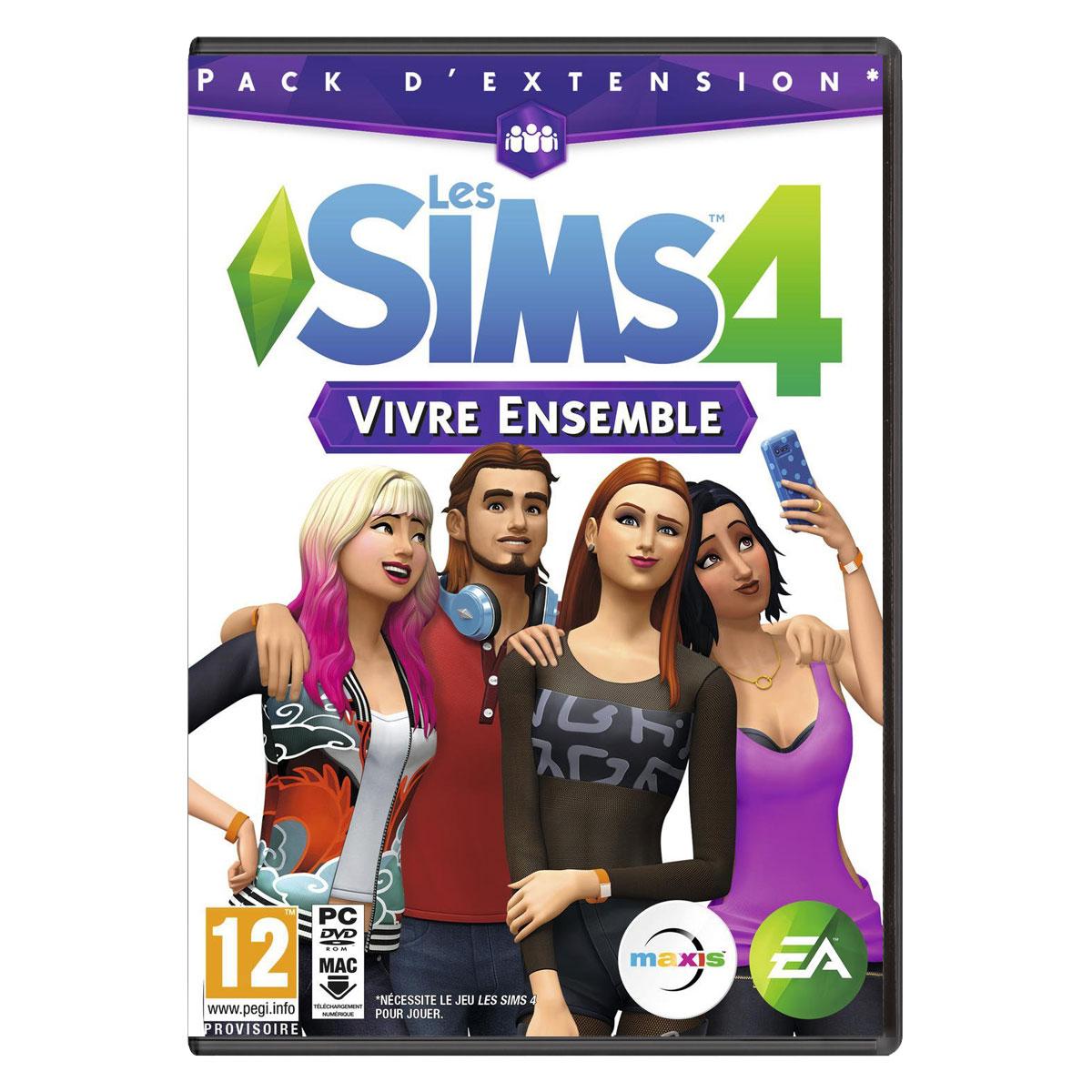 Fanday - <b>Les</b> <b>Sims</b> <b>4</b> <b>Vivre</b> <b>Ensemble</b> - Fezet