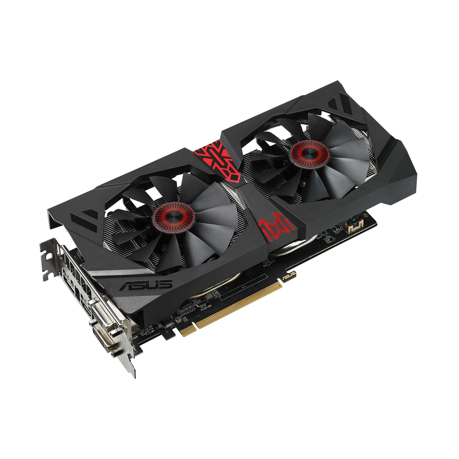 asus radeon r9 380x strix r9380x oc4g gaming 90yv0901 m0na00 achat vente carte graphique. Black Bedroom Furniture Sets. Home Design Ideas