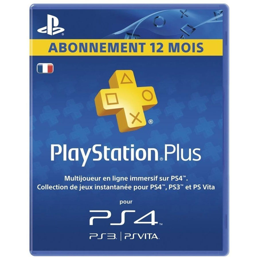 sony playstation plus 12 mois accessoires ps3 sony