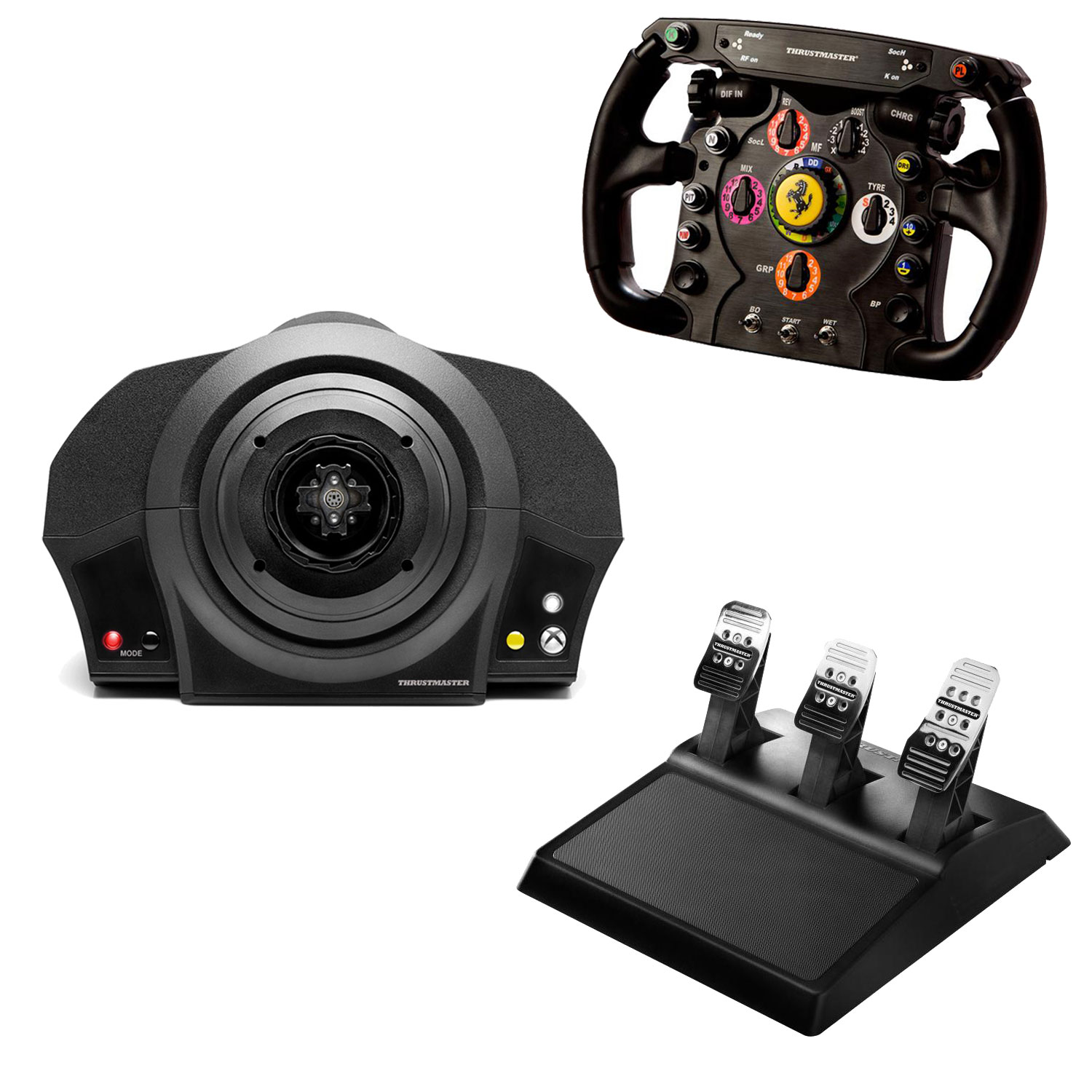 thrustmaster tx racing kit f1 edition volant pc thrustmaster sur ldlc. Black Bedroom Furniture Sets. Home Design Ideas