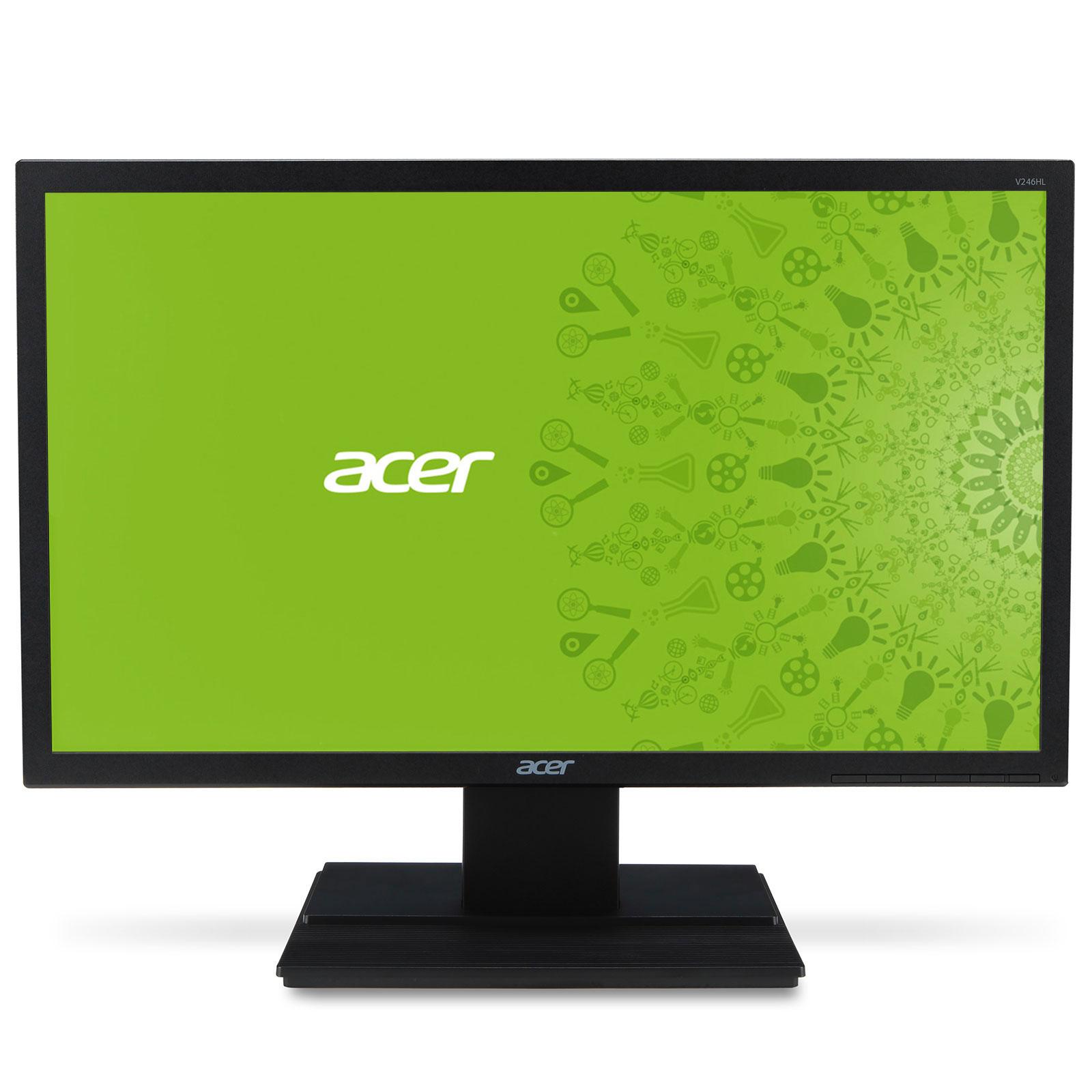 acer 24 led v246hlbid ecran pc acer sur ldlc. Black Bedroom Furniture Sets. Home Design Ideas