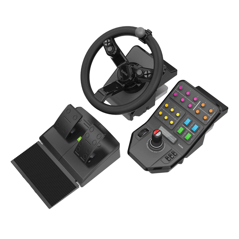 logitech g saitek farming simulator controller volant pc saitek sur ldlc. Black Bedroom Furniture Sets. Home Design Ideas