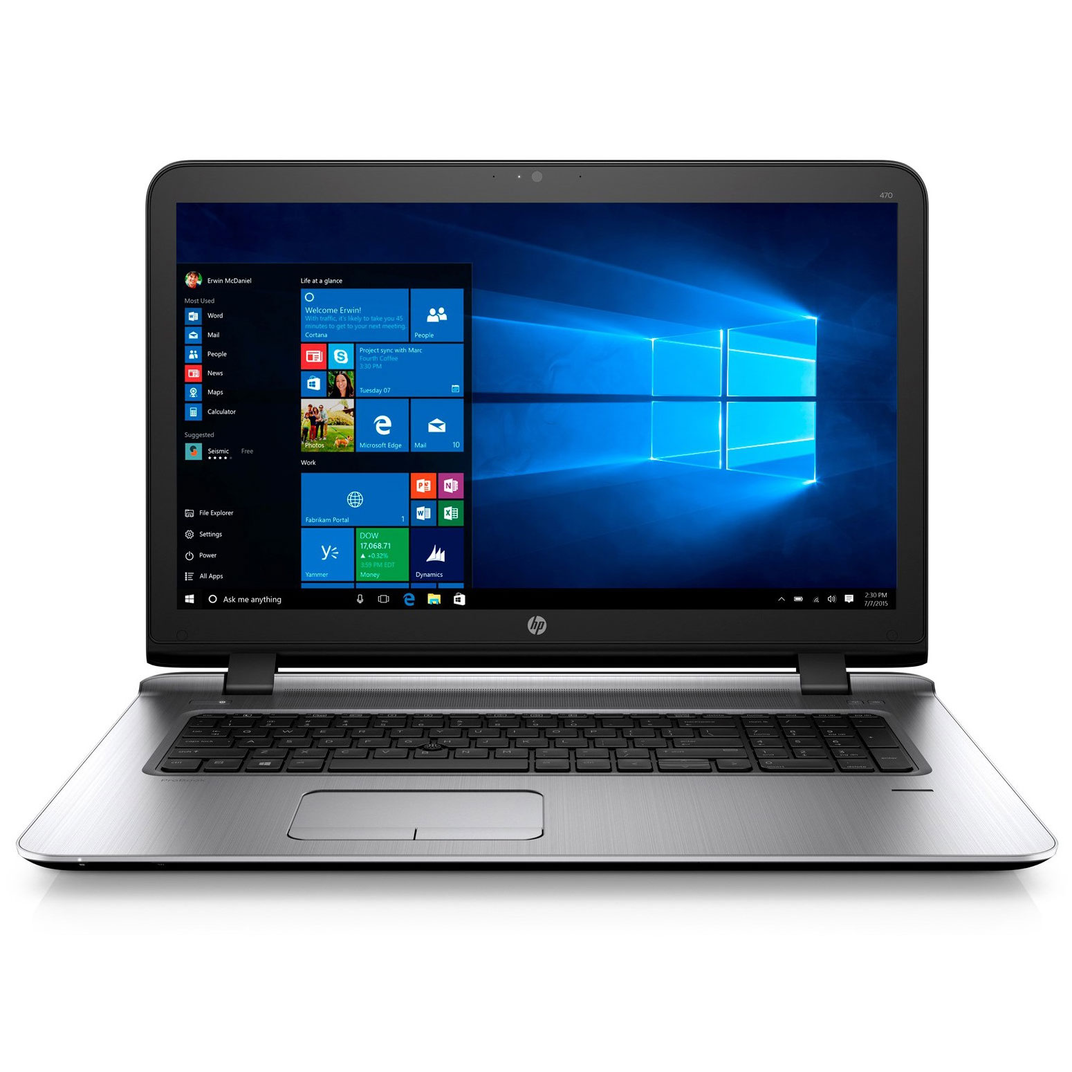 Hp probook 470 g3 w4p92ea pc portable hp sur ldlc - Ordinateur de bureau hp intel core i7 ...