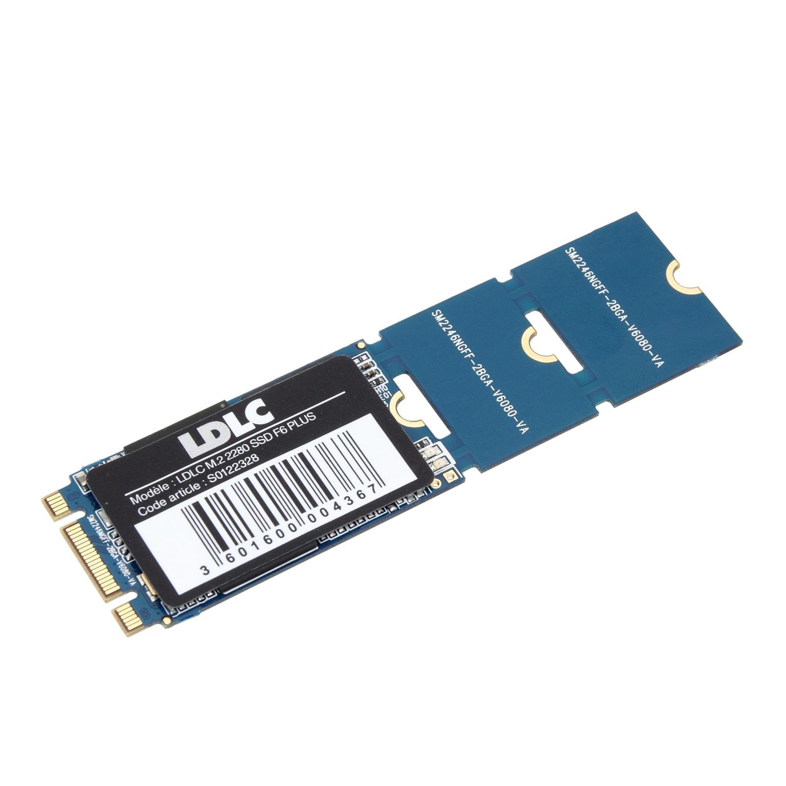 Disque SSD LDLC SSD M.2 2280 F6 PLUS 240 GB SSD 240 Go M.2 2280 SATA 6 Gbps