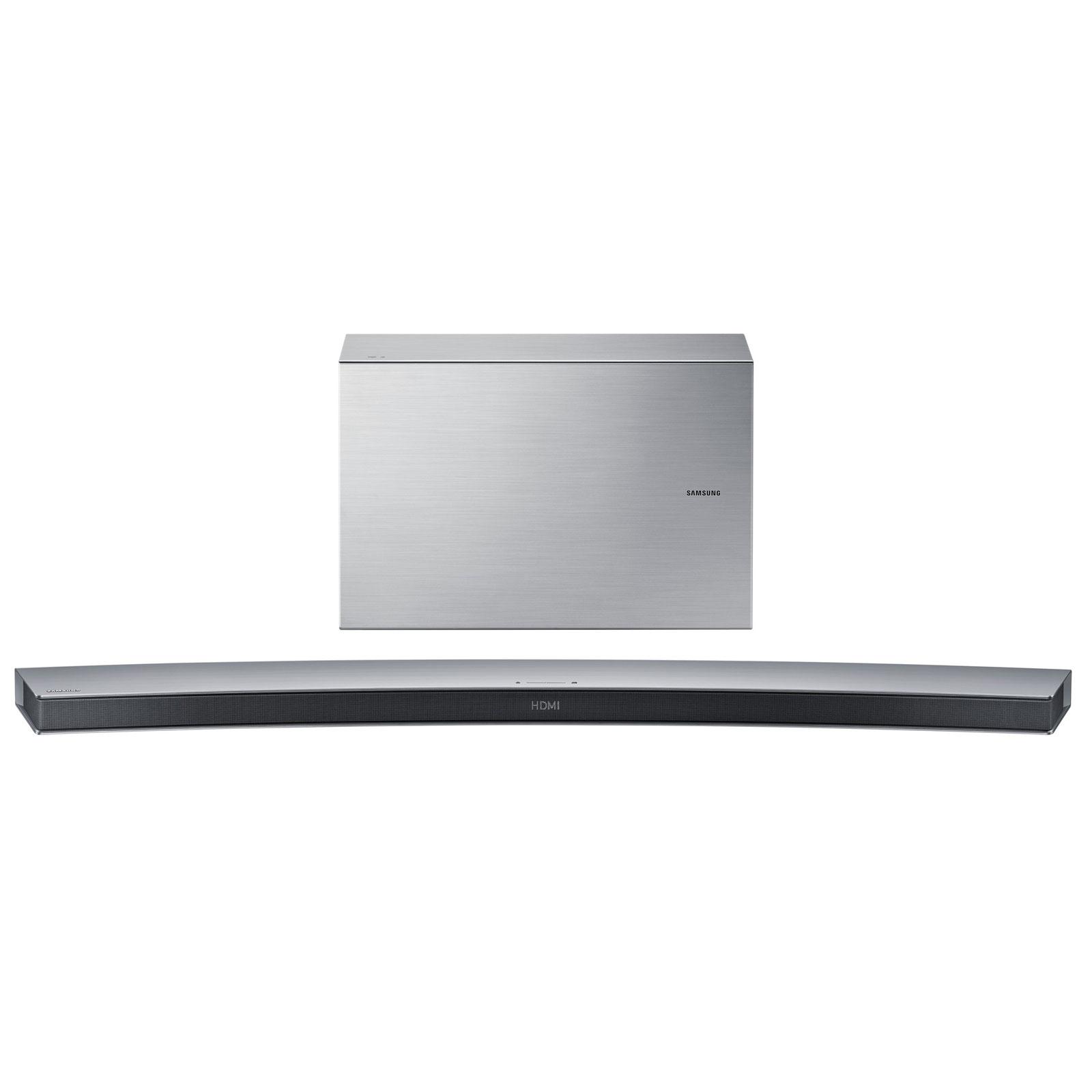 Barre de son Samsung HW-J7501 Barre de Son incurvée 8.1 avec caisson de basses sans fil