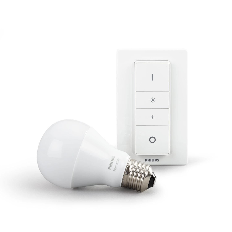 philips hue dim kit ampoule connect e philips sur ldlc. Black Bedroom Furniture Sets. Home Design Ideas