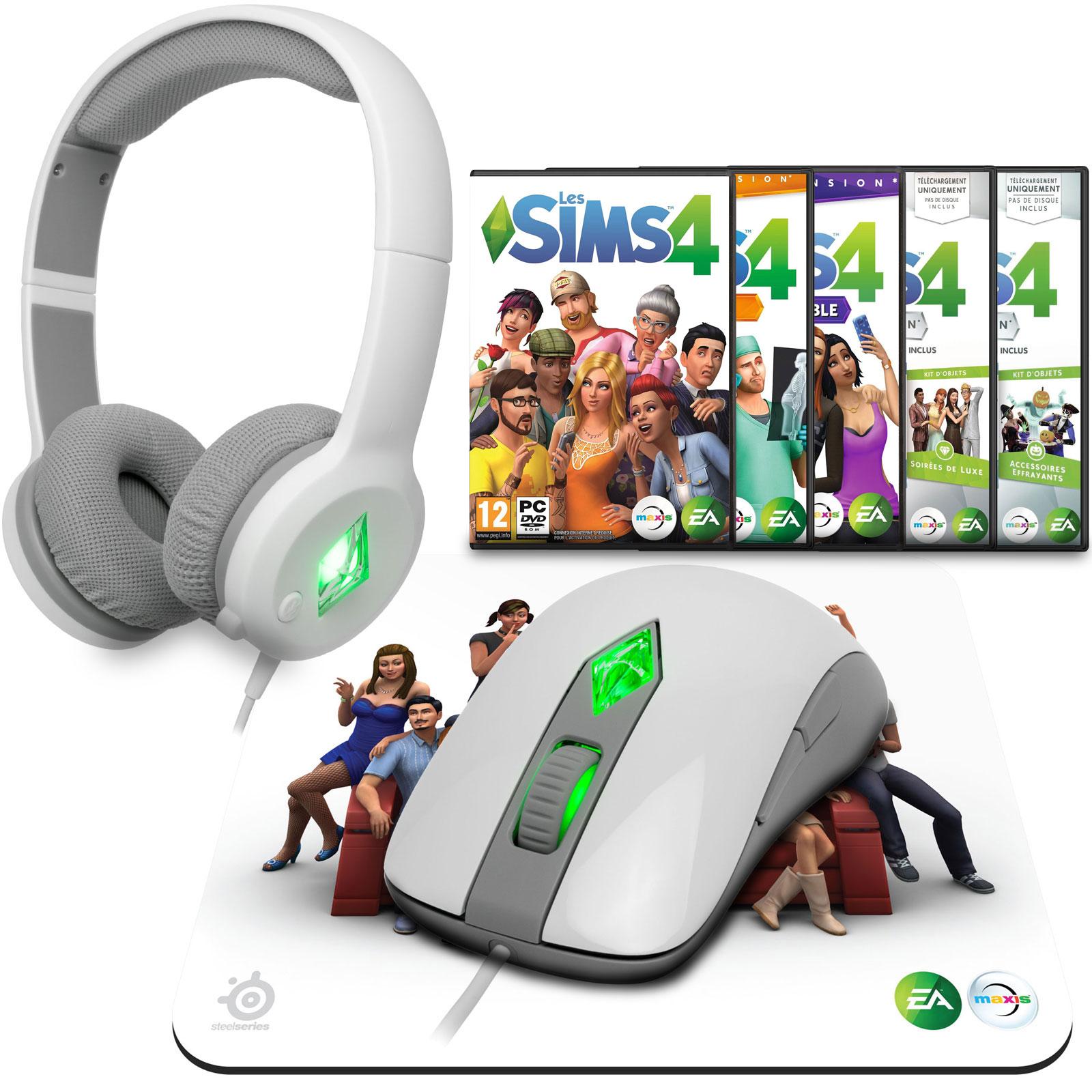 the sims 4 fan pack souris pc electronic arts sur ldlc. Black Bedroom Furniture Sets. Home Design Ideas