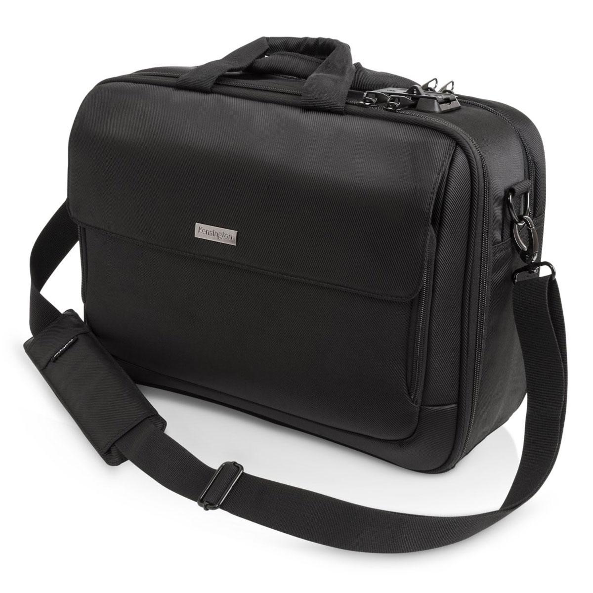 """Sac, sacoche, housse Kensington SecureTrek 15.6"""" Sacoche professionnelle avec système de verrouillage SecureTrek pour ordinateur portable (jusqu'à 15.6'') et tablette (jusqu'à 10'')"""
