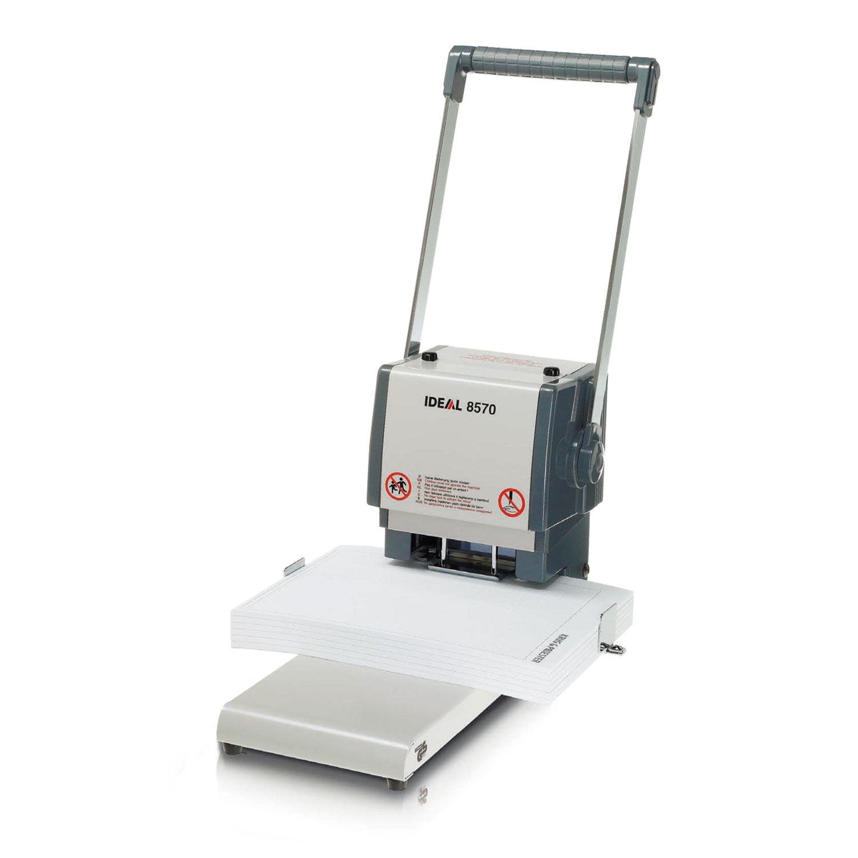 Agrafeuse, perforateur Ideal Perforateur 8570 Perfore jusqu'à 400 feuilles (70 g/m²)