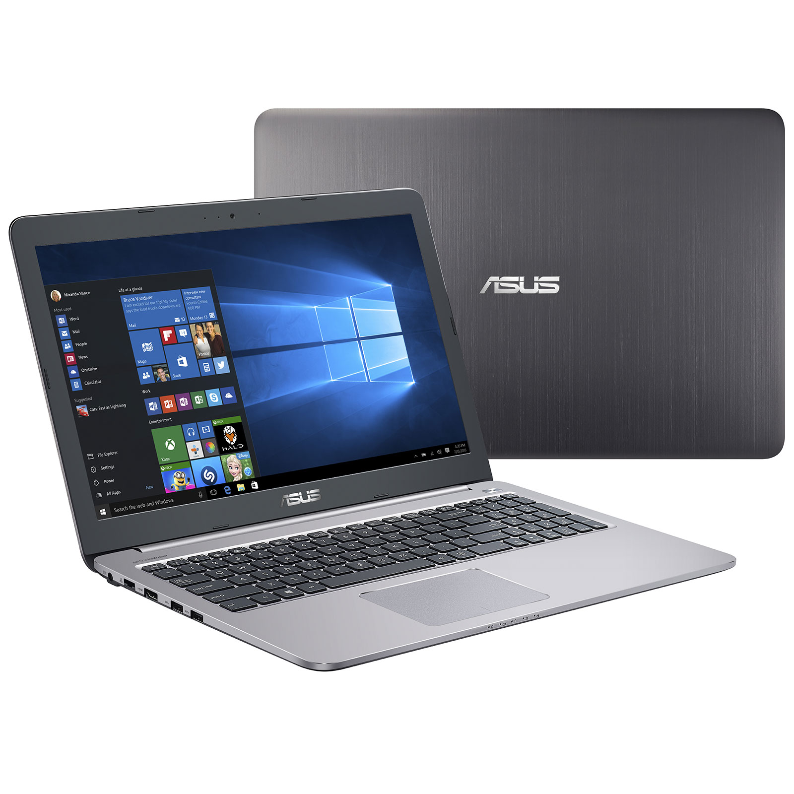 asus k501uw dm013t pc portable asus sur ldlc. Black Bedroom Furniture Sets. Home Design Ideas