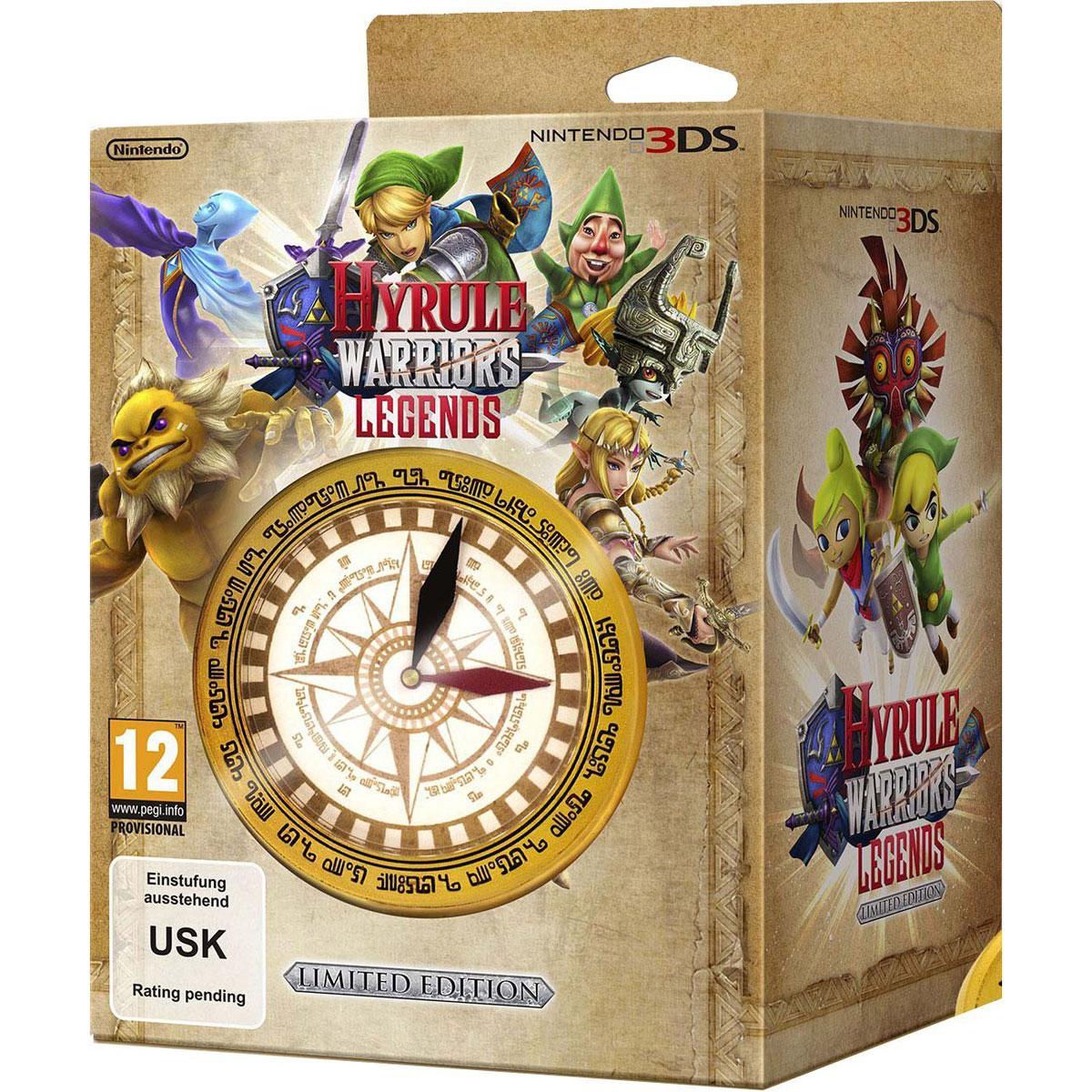Jeux Nintendo 3DS Hyrule Warriors : Legends + 1 Montre Boussole (Nintendo 3DS/2DS) Hyrule Warriors : Legends + 1 Montre Boussole (Nintendo 3DS/2DS)