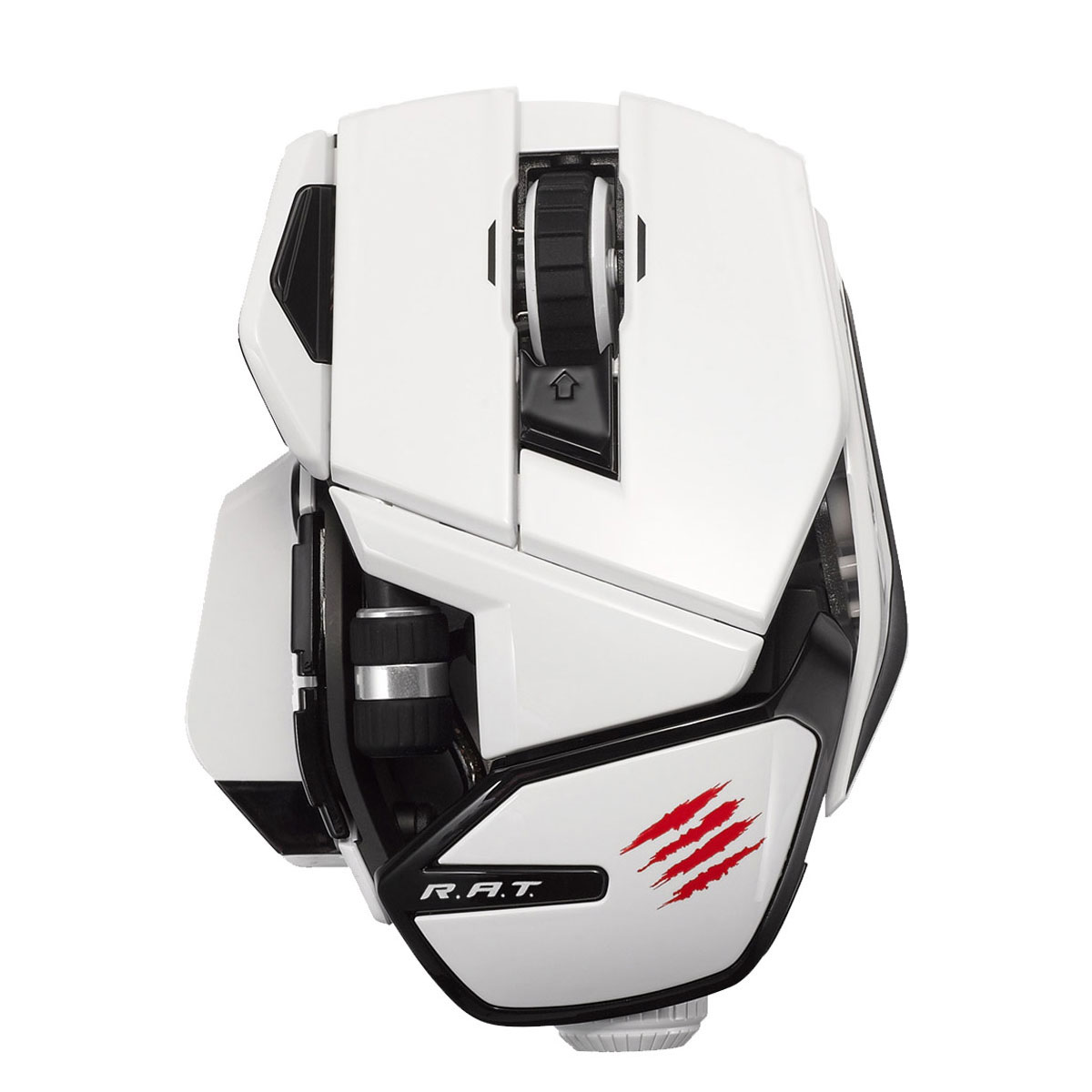 mad catz office r a t rat white souris pc mad catz sur ldlc. Black Bedroom Furniture Sets. Home Design Ideas