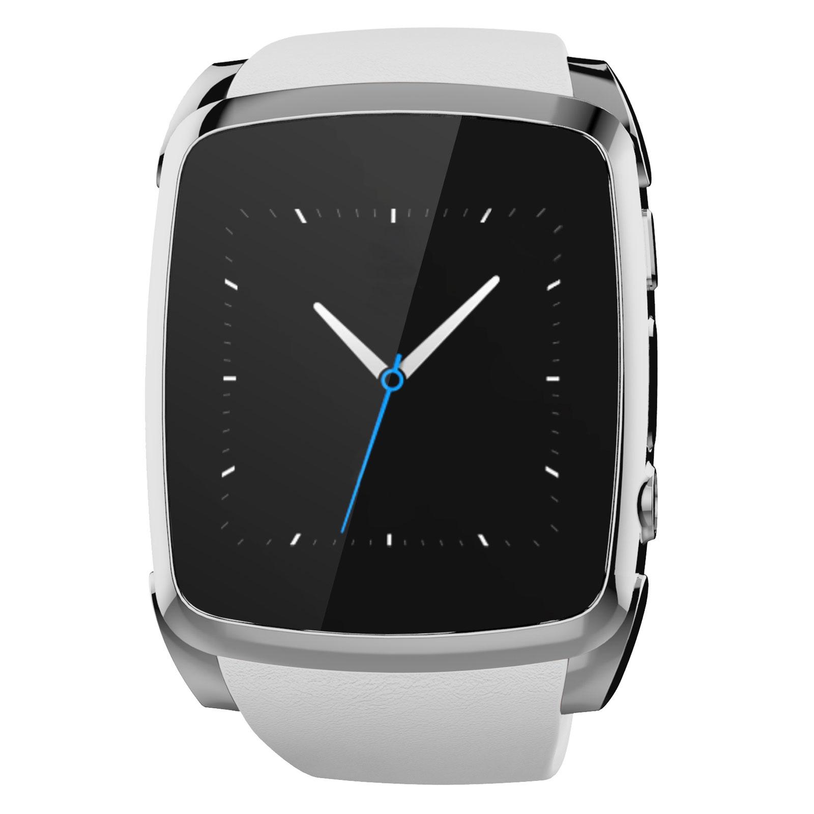 prestige smart watch blanc montre bracelets connect s. Black Bedroom Furniture Sets. Home Design Ideas