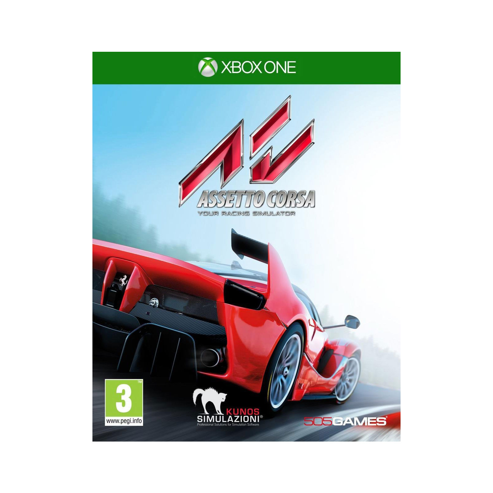 assetto corsa xbox one jeux xbox one 505 games sur ldlc. Black Bedroom Furniture Sets. Home Design Ideas
