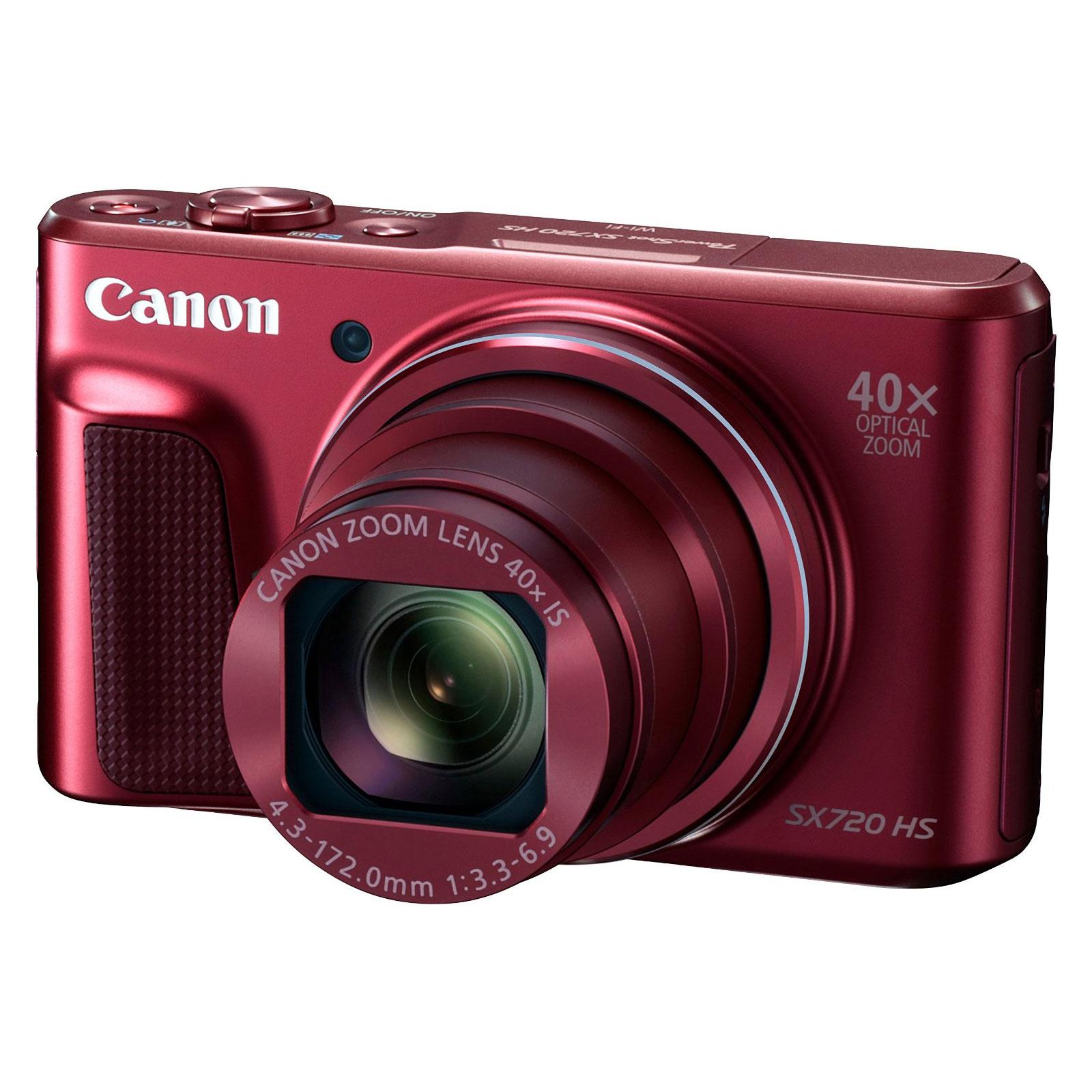 canon powershot sx720 hs rouge appareil photo num rique. Black Bedroom Furniture Sets. Home Design Ideas