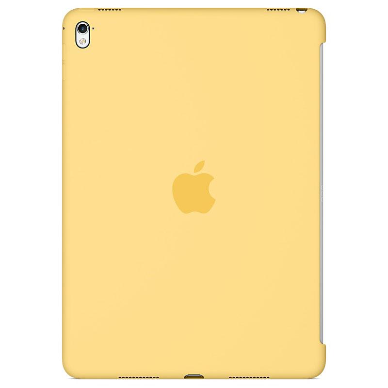 """Accessoires Tablette Apple iPad Pro 9.7"""" Silicone Case Jaune Protection arrière en silicone pour iPad Pro 9.7"""""""