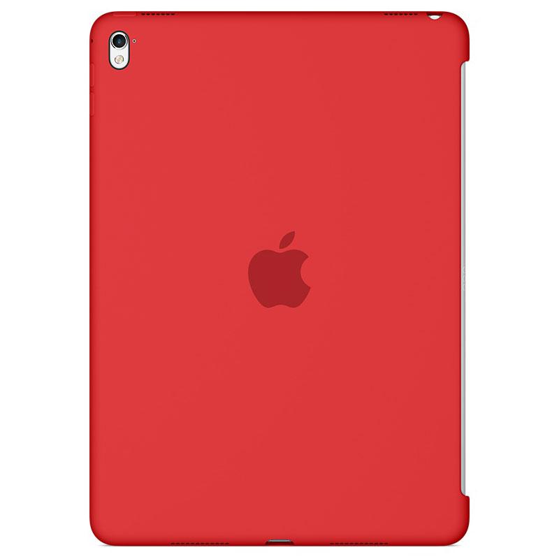 """Accessoires Tablette Apple iPad Pro 9.7"""" Silicone Case Rouge Protection arrière en silicone pour iPad Pro 9.7"""""""