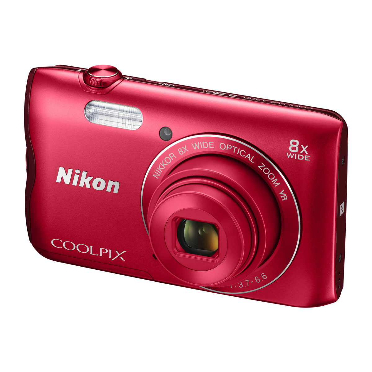 nikon coolpix a300 rouge appareil photo num rique nikon sur ldlc. Black Bedroom Furniture Sets. Home Design Ideas