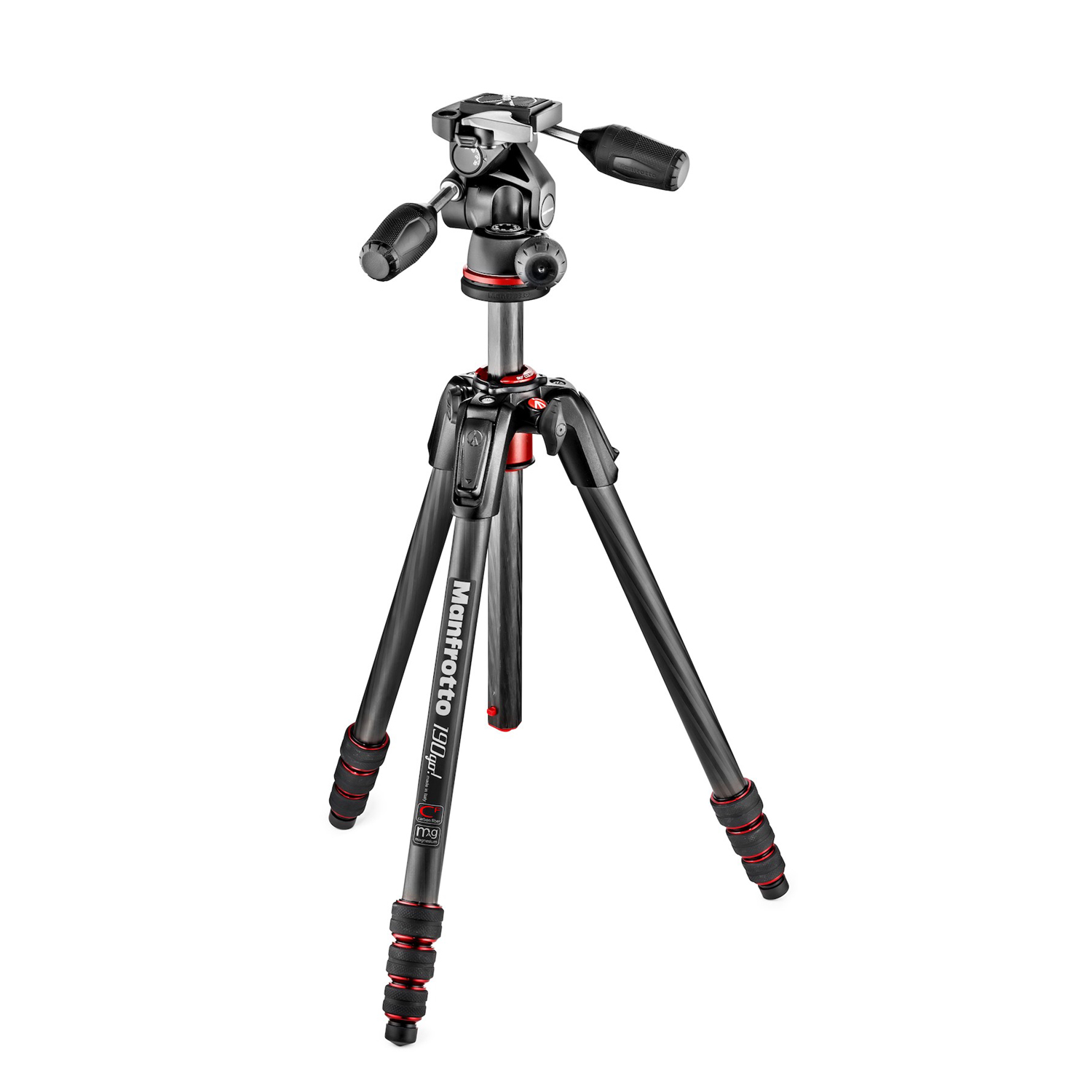 manfrotto 190go mk190goc4tb 3w tr pied appareil photo manfrotto sur ldlc. Black Bedroom Furniture Sets. Home Design Ideas