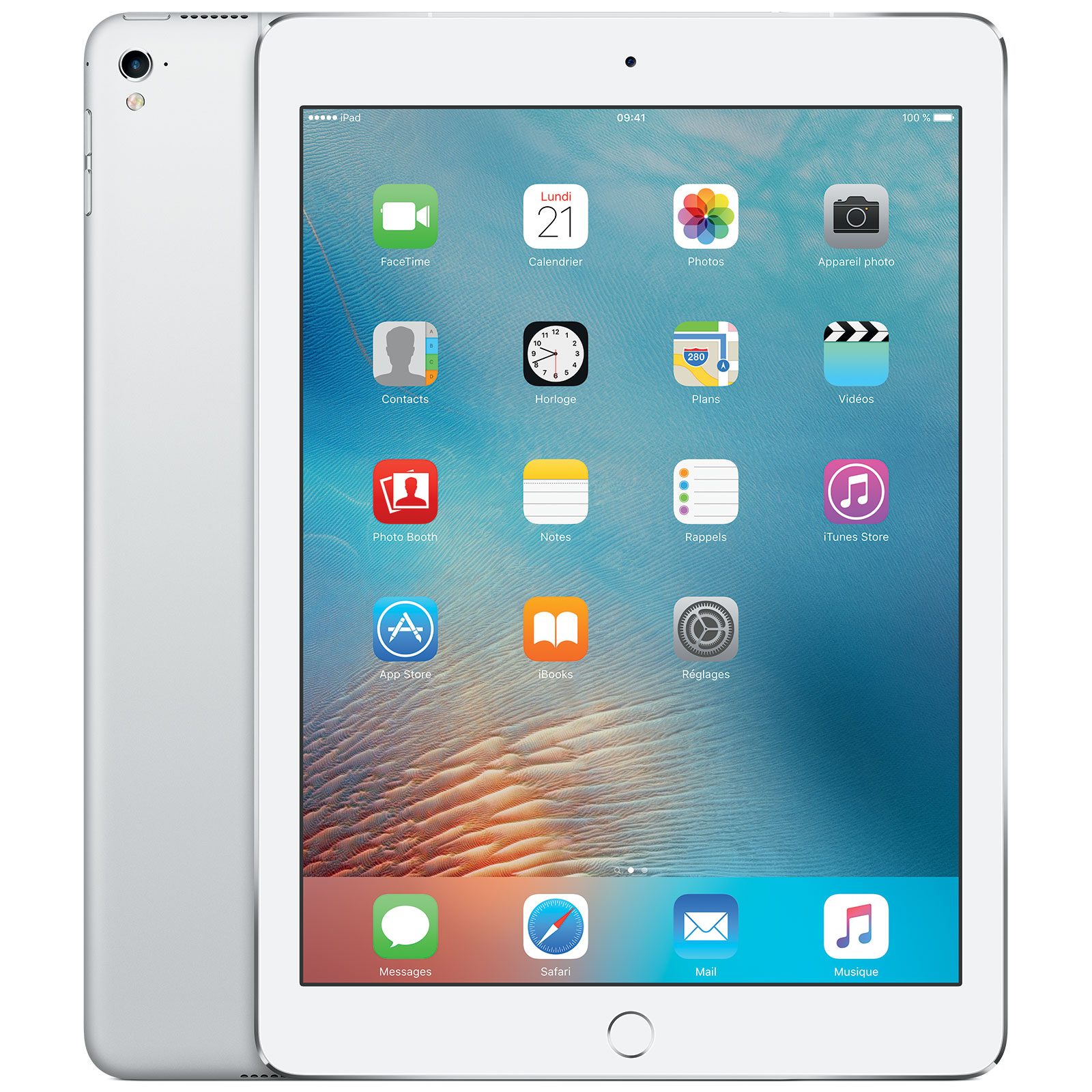 apple ipad pro 9 7 wi fi 128 go argent tablette tactile. Black Bedroom Furniture Sets. Home Design Ideas
