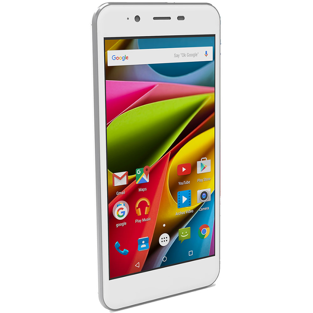 archos 50 cobalt blanc mobile smartphone archos sur ldlc. Black Bedroom Furniture Sets. Home Design Ideas