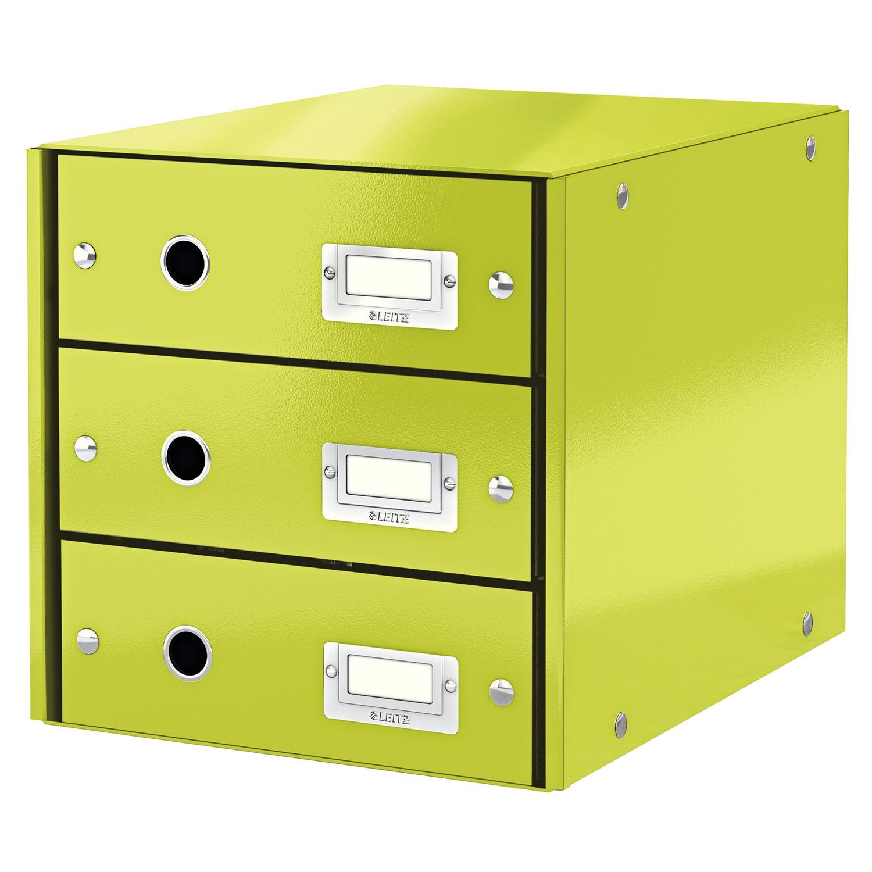 Leitz bloc de classement tiroirs leitz click store for Ladenblok groen
