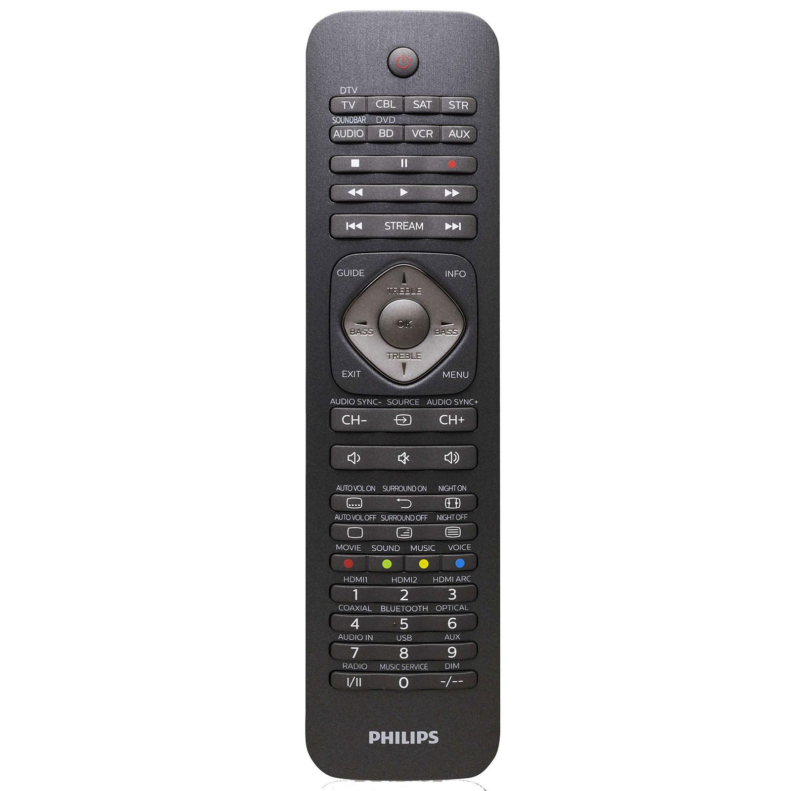 Philips perfect replacement srp5018 10 t l commande for Telecommande philips livingcolors ne fonctionne plus