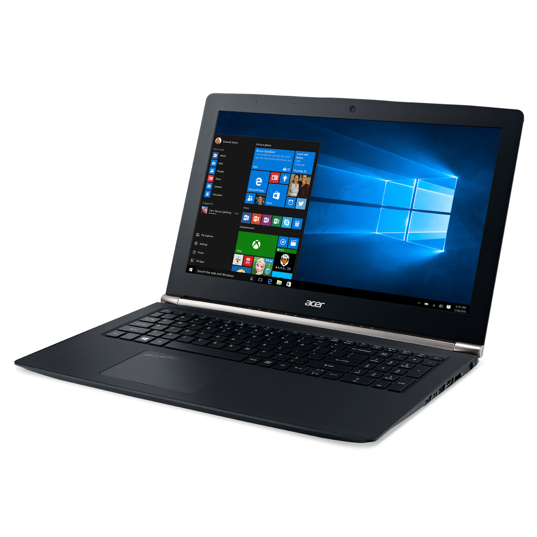 "PC portable Acer Aspire V Nitro VN7-592G-54H3 Black Edition Intel Core i5-6300HQ 8 Go SSD 128 Go + 1 To 15.6"" LED Full HD NVIDIA GeForce GTX 960M 2 Go Wi-Fi AC/Bluetooth Webcam Windows 10 Famille"