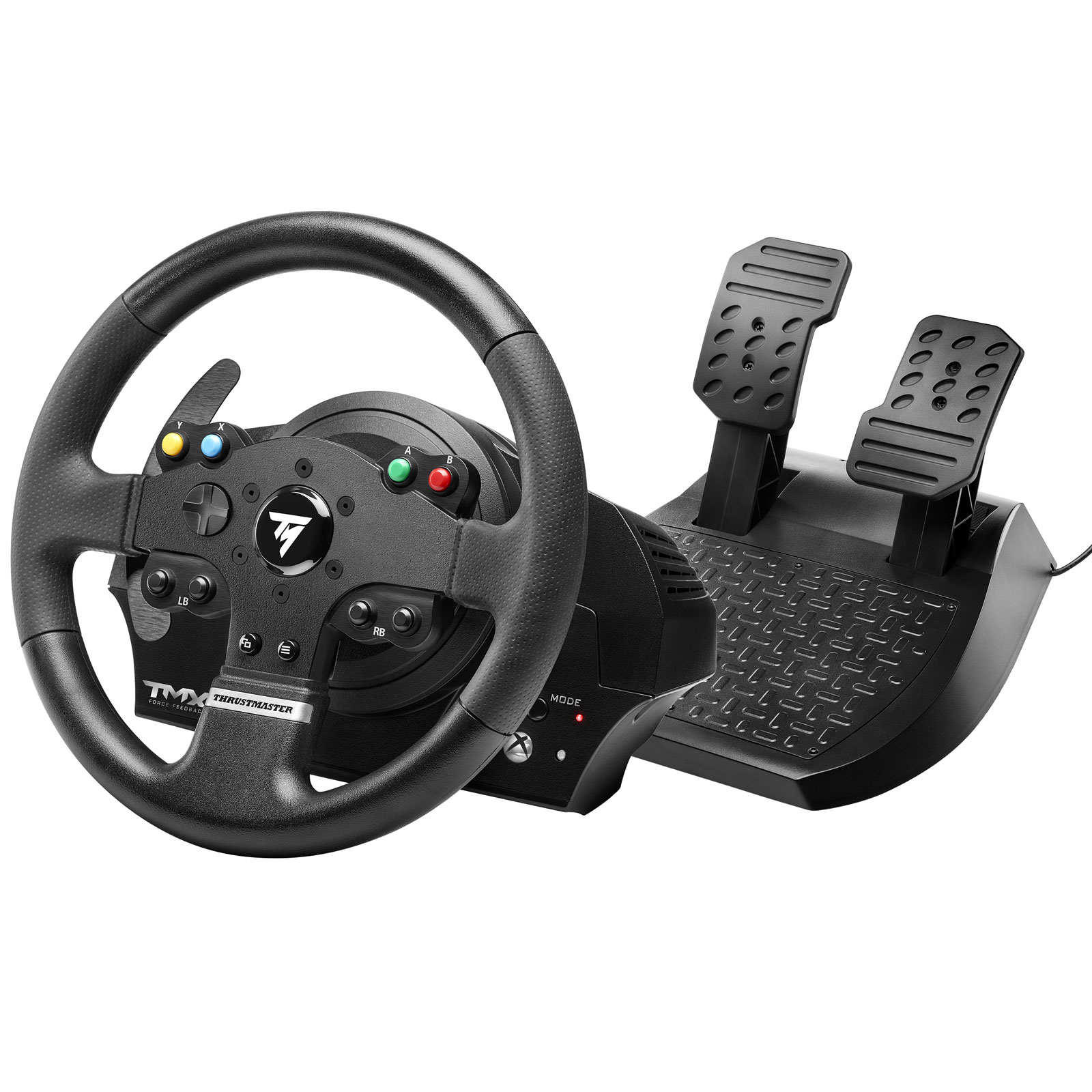 thrustmaster tmx force feedback volant pc thrustmaster sur ldlc. Black Bedroom Furniture Sets. Home Design Ideas