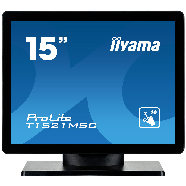 iiyama 15 led tactile prolite t1521msc b1 ecran pc. Black Bedroom Furniture Sets. Home Design Ideas