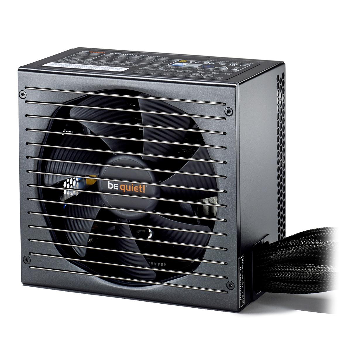 Alimentation PC be quiet! Straight Power 10 400W 80PLUS Gold Alimentation 500W ATX 12V 2.4/ EPS 12V 2.92 (Garantie 5 ans par Be Quiet !)