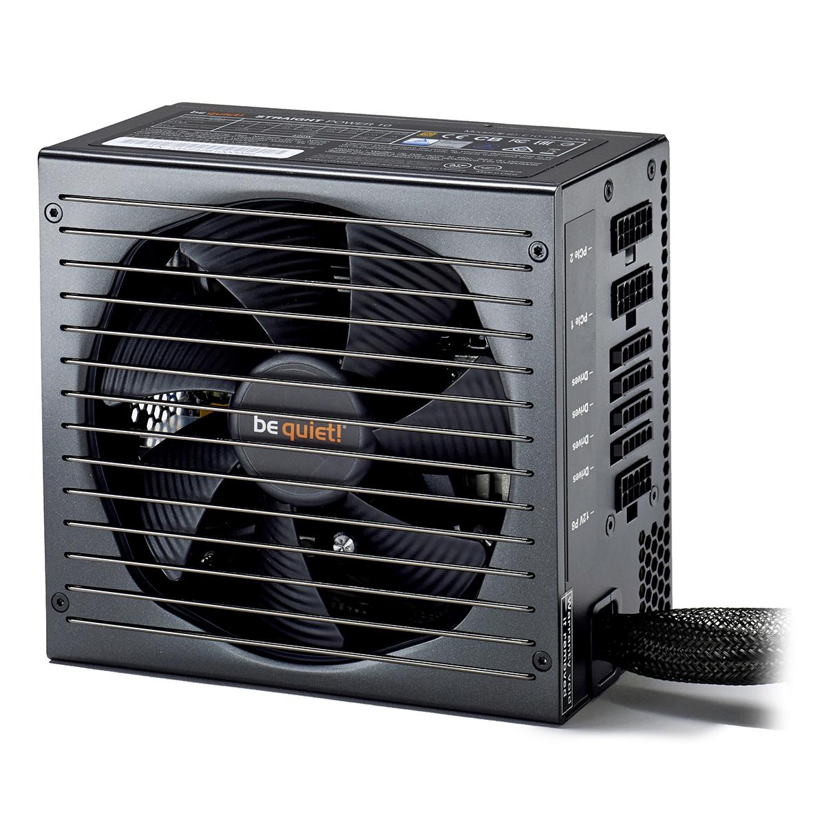 Alimentation PC be quiet! Straight Power 10 700W CM 80PLUS Gold Alimentation modulaire 700W ATX 12V 2.4/ EPS 12V 2.92 (Garantie 5 ans par Be Quiet !)