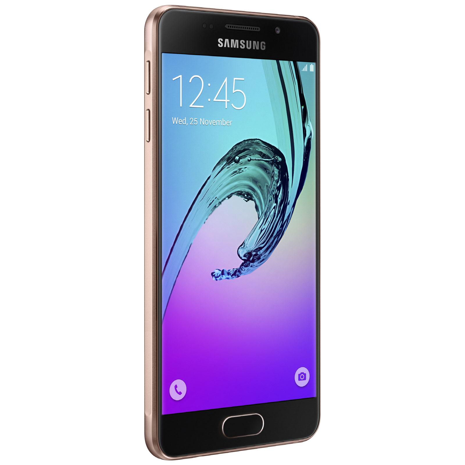 Samsung galaxy a3 2016 rose or mobile smartphone for Photo ecran galaxy a3