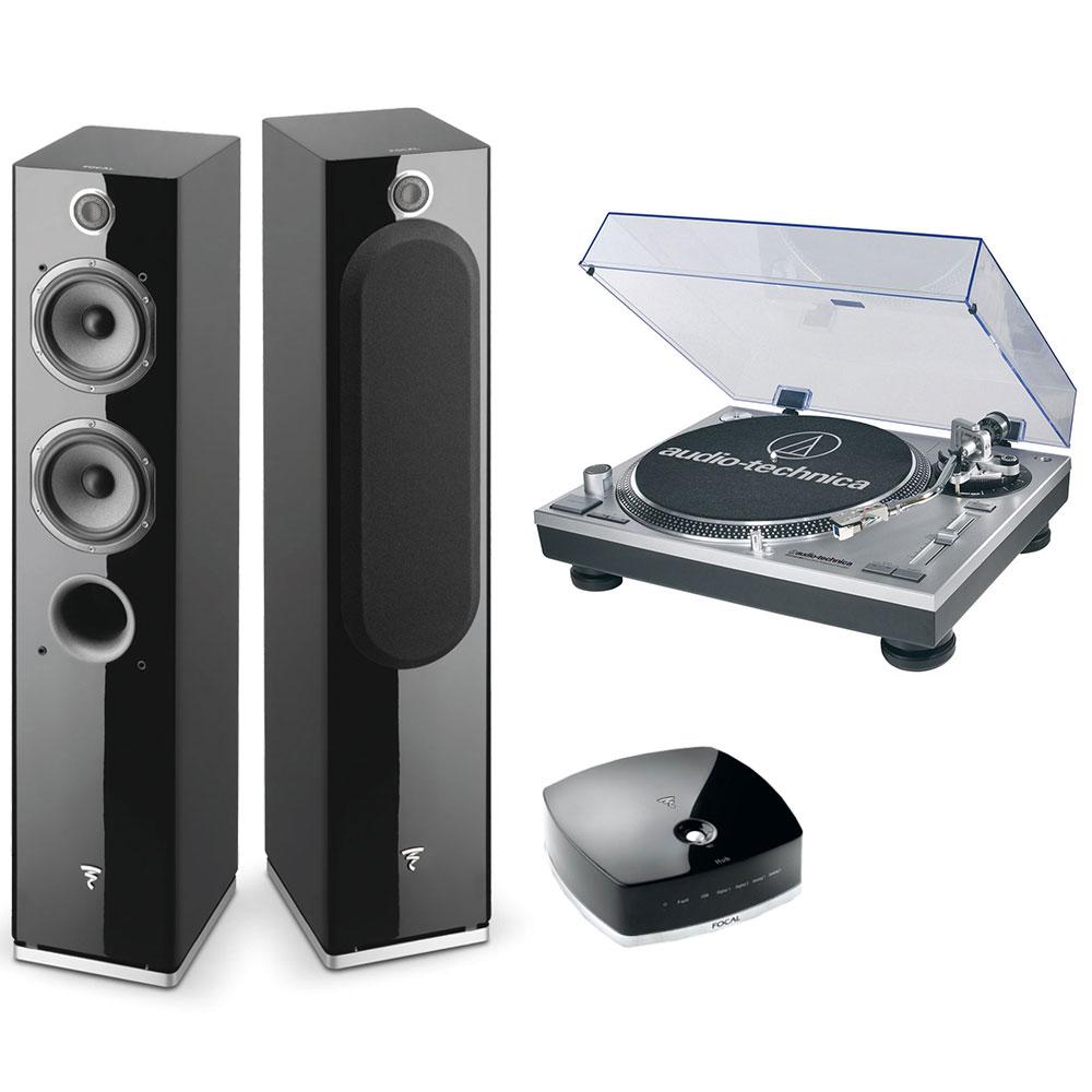 focal easya audio technica at lp120usbhc focal easya. Black Bedroom Furniture Sets. Home Design Ideas