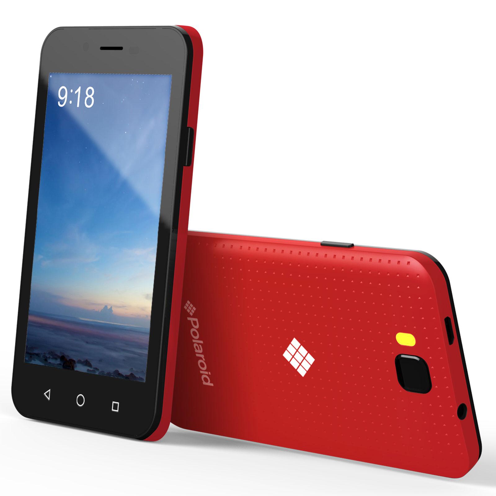 polaroid tilia 4 noir coque rouge mobile smartphone polaroid sur ldlc. Black Bedroom Furniture Sets. Home Design Ideas