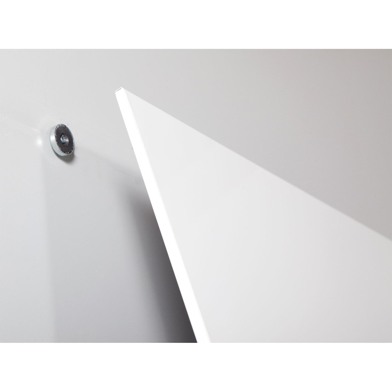 rocada tableau blanc m tallique 75 x 115 cm tableau blanc et paperboard roc. Black Bedroom Furniture Sets. Home Design Ideas