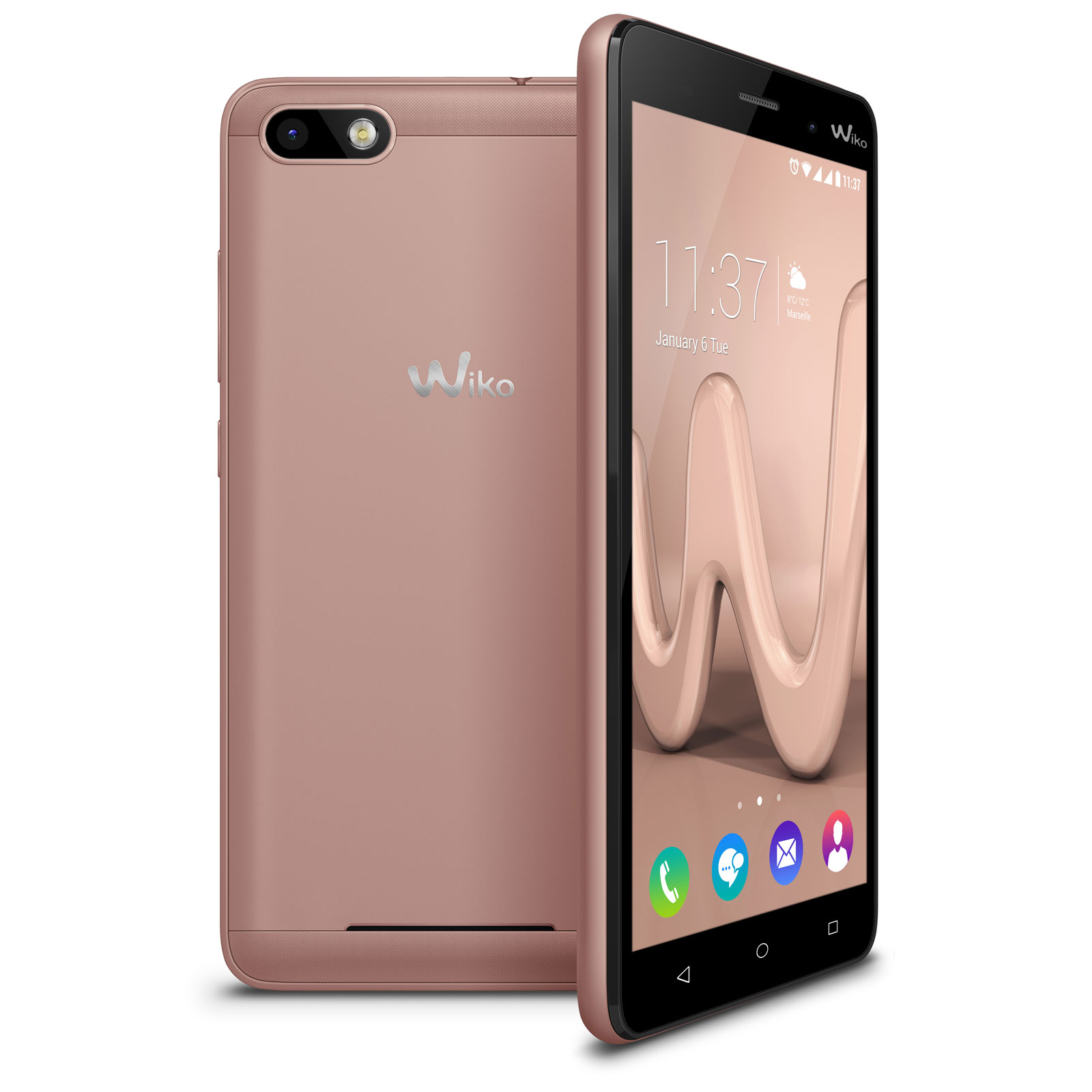 wiko lenny 3 or rose mobile smartphone wiko sur ldlc. Black Bedroom Furniture Sets. Home Design Ideas