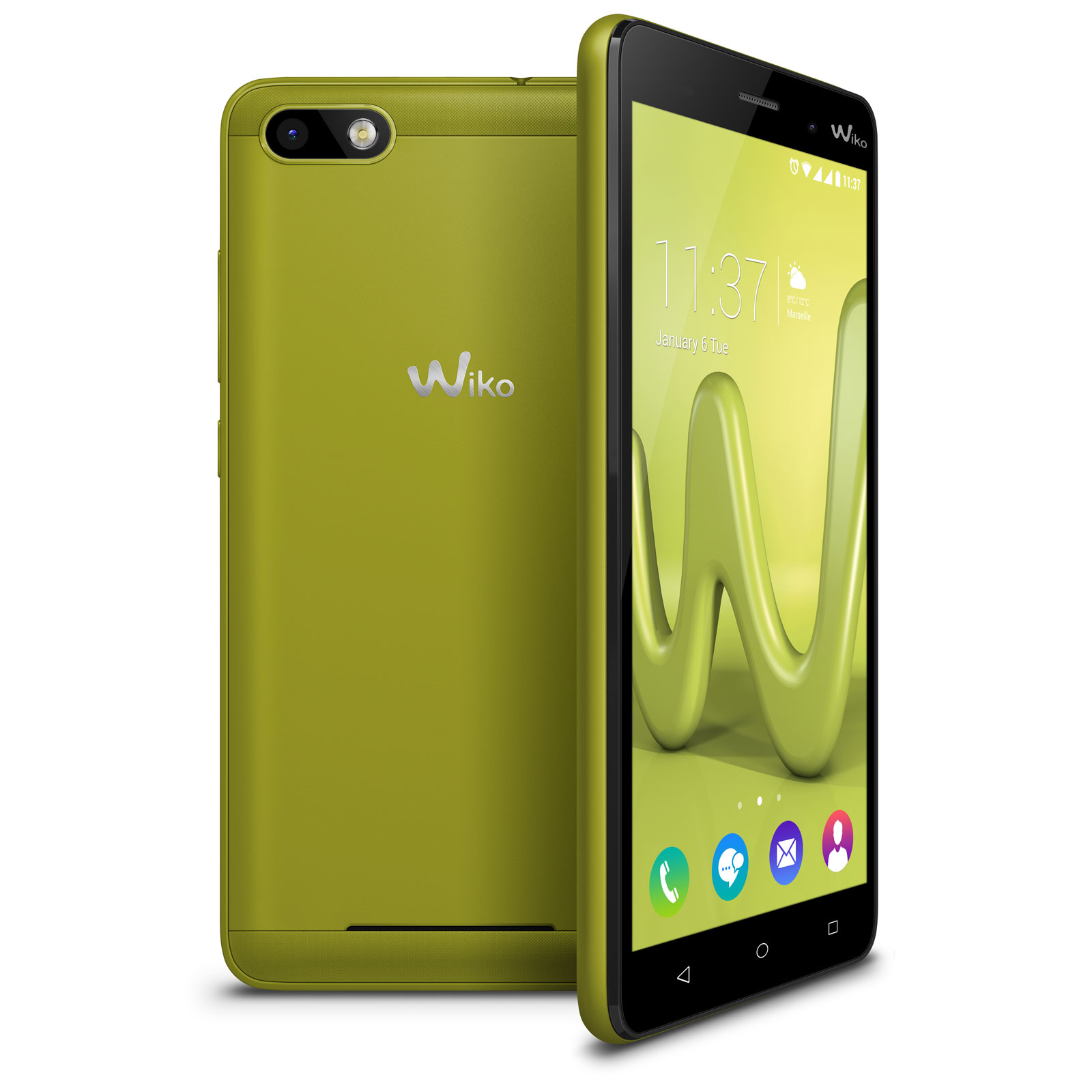 wiko lenny 3 lime mobile smartphone wiko sur ldlc. Black Bedroom Furniture Sets. Home Design Ideas