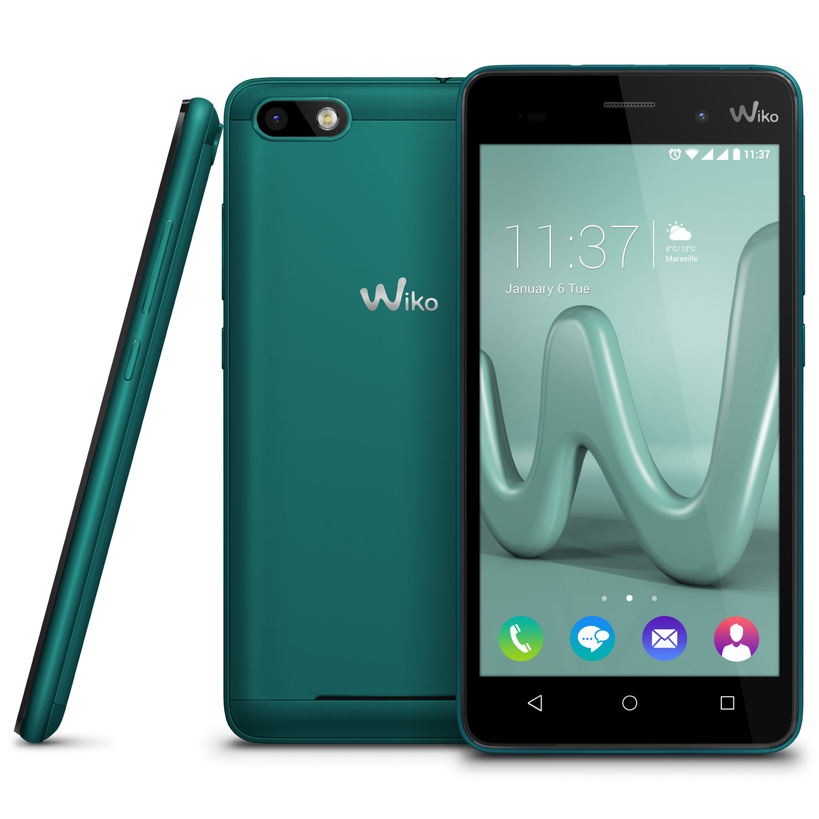 wiko lenny 3 bleen mobile smartphone wiko sur ldlc. Black Bedroom Furniture Sets. Home Design Ideas
