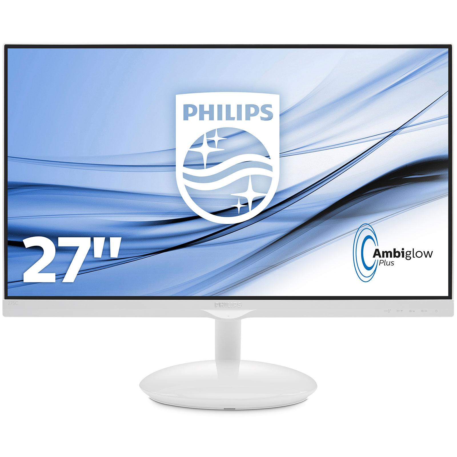 Philips 27 led 275c5qhgsw ecran pc philips sur ldlc for Ecran 27 dalle ips