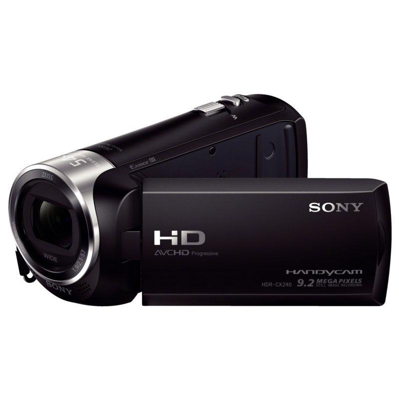 Caméscope numérique Sony HDR-CX240E Noir Caméscope HD capteur grand angle HDMI