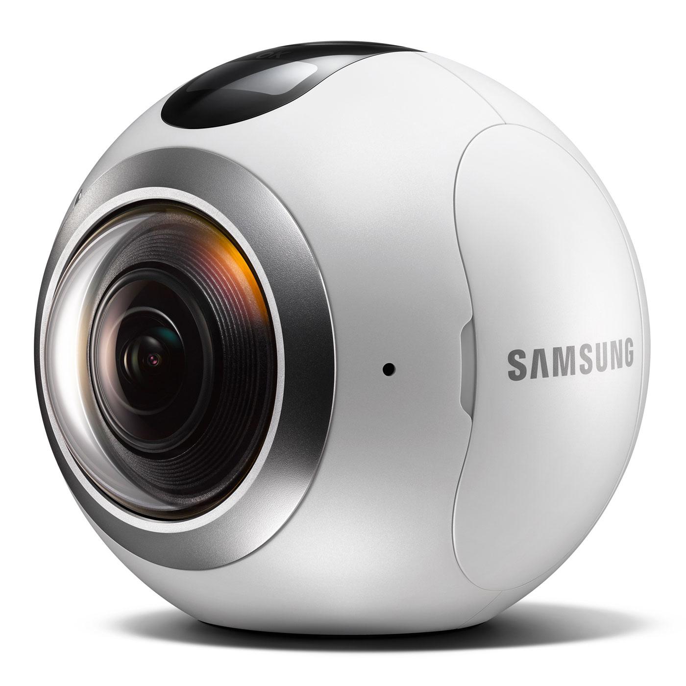 samsung gear 360 blanc sm c200nzwaxef achat vente gadget t l phone sur. Black Bedroom Furniture Sets. Home Design Ideas