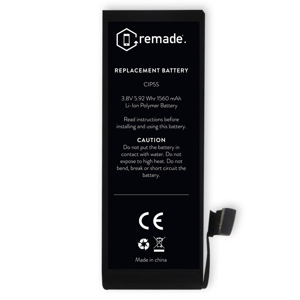 remade kit de r paration batterie iphone 5s pack. Black Bedroom Furniture Sets. Home Design Ideas
