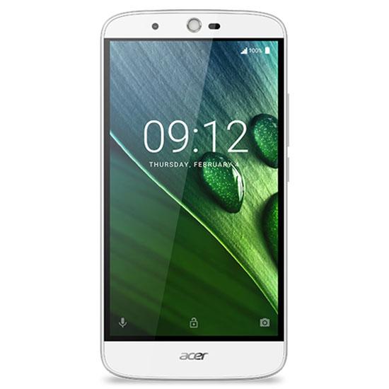 "Mobile & smartphone Acer Liquid Zest Plus Blanc Smartphone 4G-LTE Dual SIM - MediaTek MT6735 Quad-Core 1.3 GHz - RAM 2 Go - Ecran tactile 5.5"" 720 x 1280 - 16 Go - Bluetooth 4.0 - 5000 mAh - Android 6.0"