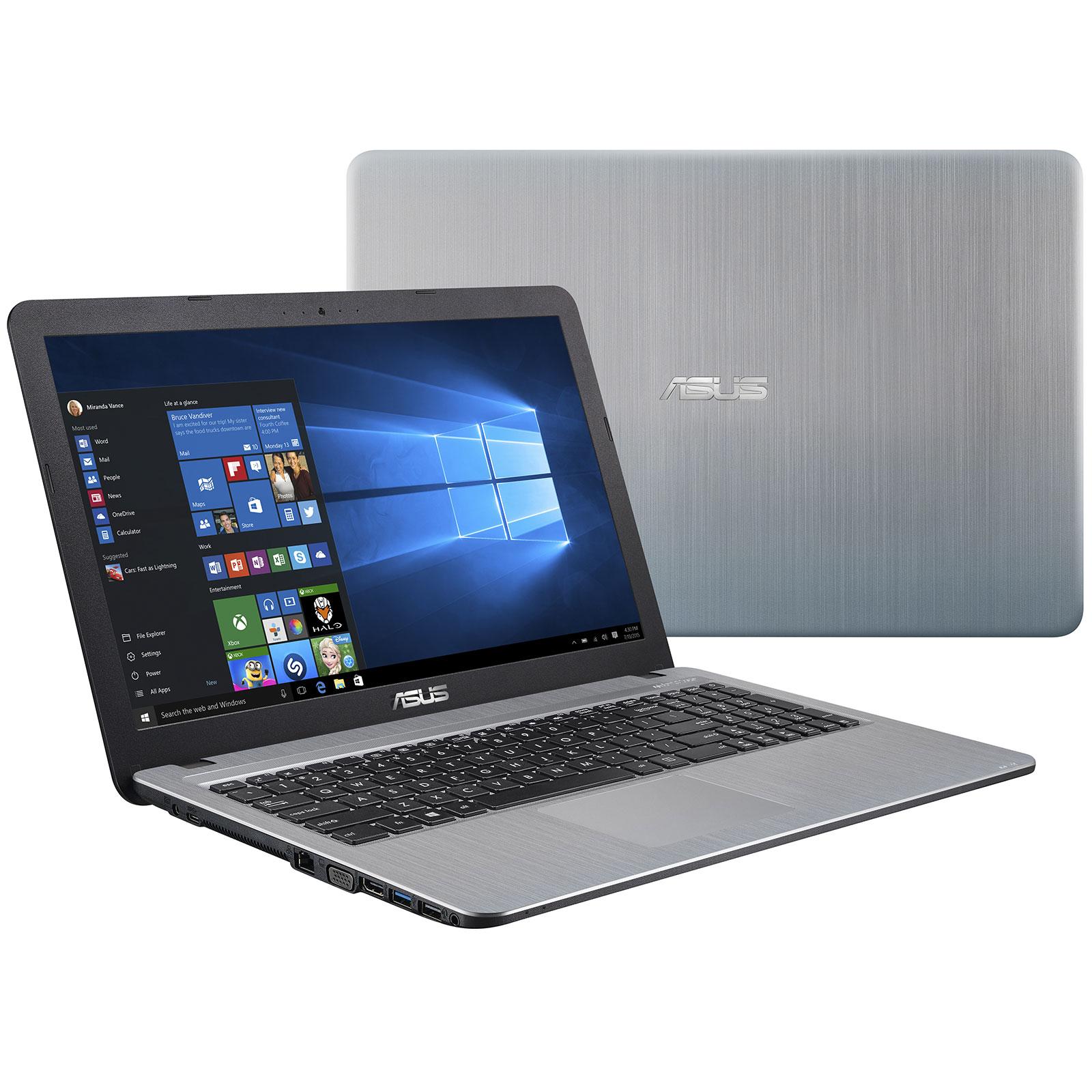 "PC portable ASUS R541UV-DM255T Intel Core i5-6198DU 4 Go 1 To 15.6"" LED Full HD NVIDIA GeForce 920MX Graveur DVD Wi-Fi N/Bluetooth Webcam Windows 10 Famille 64 bits (garantie constructeur 2 ans)"