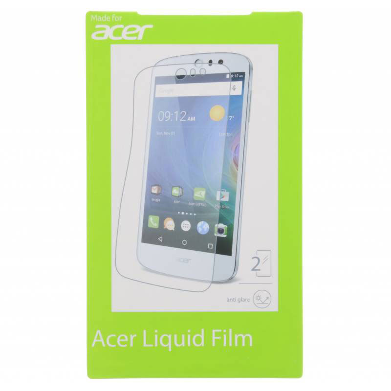 Film protecteur téléphone Acer Film de protection Liquid Zest 3G/4G Lot de 2 films de protection pour Acer Liquid Zest 3G/4G