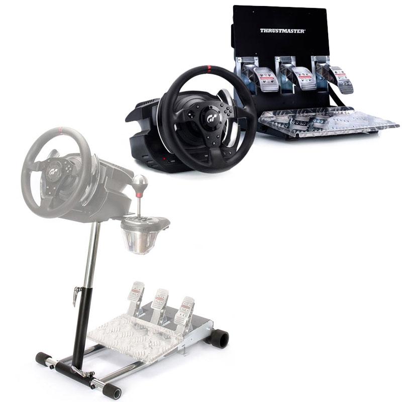 thrustmaster t500 rs t500rs wheel stand pro v2 bundle. Black Bedroom Furniture Sets. Home Design Ideas